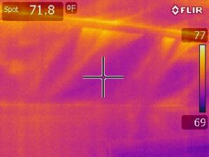 Infiltration at Hot Roof